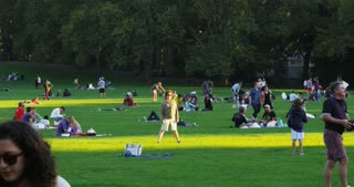 Recreation in Central Park