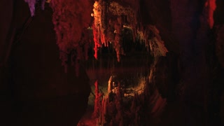Red Lit Cave