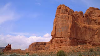 Red Rock Formation In Moab