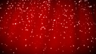Red Snowfall