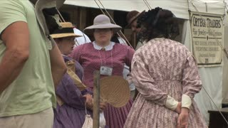 Reenactors Civil War Women