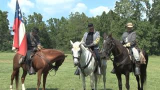 Reenactors on Horses 2