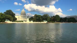 Reflecting Pool at Capitol Building
