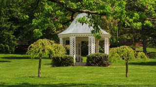 Resort Gazebo Amid Nature