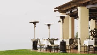 Resort Outdoor Eating Area