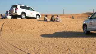 Resting In UAE Desert