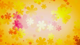 Retro Flower Yellow