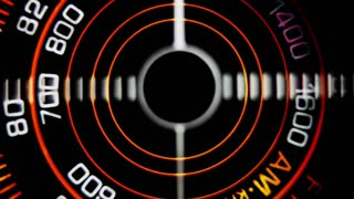 Retro Radio Dial