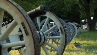 Revolutionary War Cannon Pan