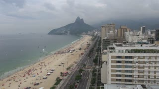Rio Ipanema Beach View High Angle