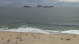 Rio ipanema Beach With Islands