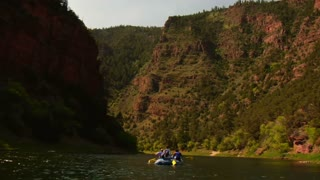 River Rafting In The Mountains 2