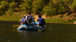 River Rafting In The Mountains 3