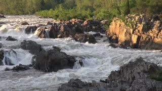 River Rapids in Evening Light 2