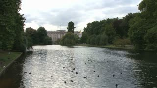 River Tyburn By Buckingham Palace