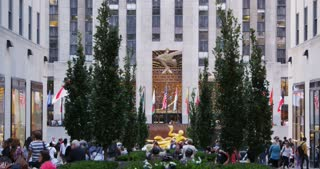 Rockefeller Plaza in New York City