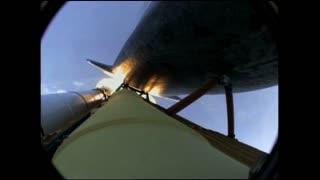 Rocket Cam During Take Off
