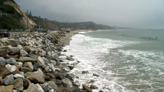 Rocky Ocean Cove Timelapse