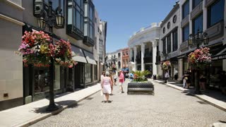 Rodeo Drive, Beverly Hills, Los Angeles, California, United States of America, North America, T/lapse