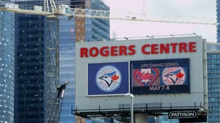 Rogers Centre Stadium Sign