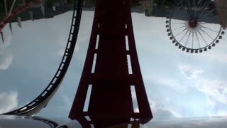 Roller Coaster Front Seat View