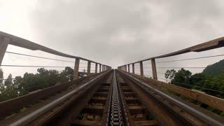 Rollercoaster Ramp Up POV