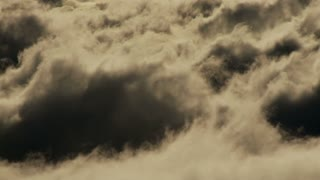 Rolling Layers Of Clouds Timelapse