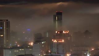 Rolling Timelapse San Francisco Fog