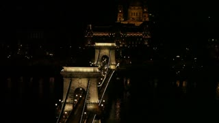 Romanian Bridge At Night