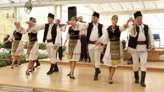 Romanian Dance Performance