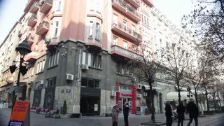Romanian Street Corner