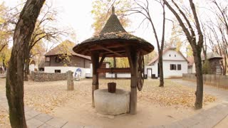 Romanian Well in Courtyard