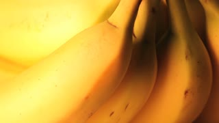 Rotating Banana Close Up