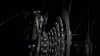 Rotating Bike Gears with Chain Shift 2