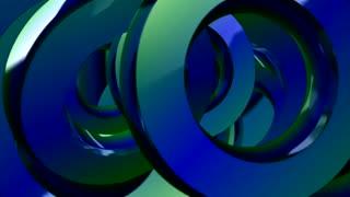 Rotating Circle Blue