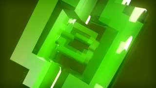 Rotating Green Blocks