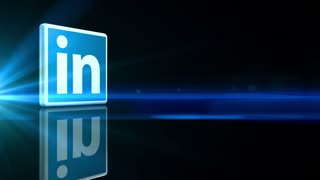 Rotating LinkedIN Icon
