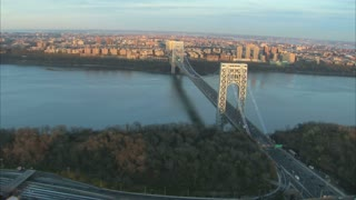 Rotating View of George Washington Bridge 1