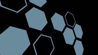 Rotation of White Hexagonal