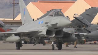 Royal Air Force Typhoon at Red Flag