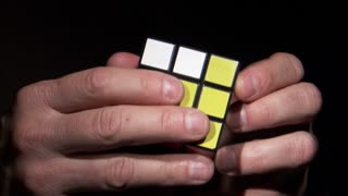 Rubiks Cube Being Solved 3