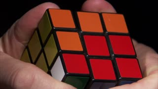 Rubiks Cube Being Solved