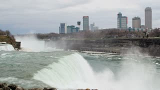 Rushing Niagara Falls by City