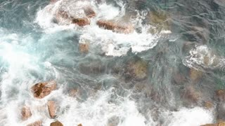 Rushing Water Rocks