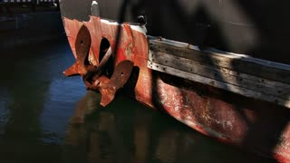 Rusty Ship Bow