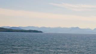 Sailing in Alaska
