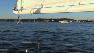 Sailing in the Harbor 2