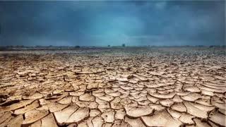 Salt Flats Storm Landscape