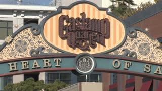 San Diego Gaslamp District Signage