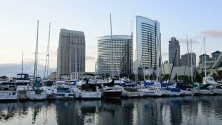San Diego Harbor Timelapse